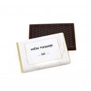 Mini tablette de chocolat personnalisée