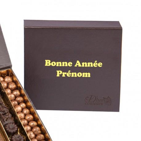 Boite de chocolats personnnalisée