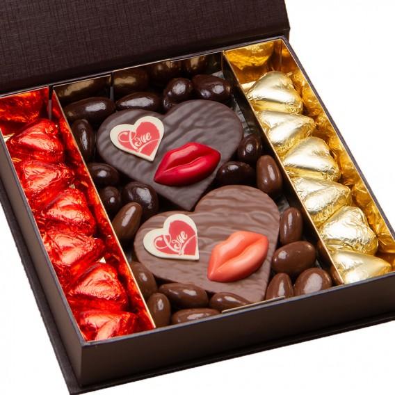 Chocolats saint valentin