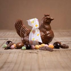 Poule chocolat de Pâques