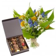 Muguet, Fleurs et chocolats