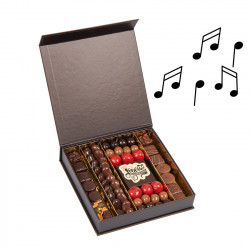 Boite de chocolats musical