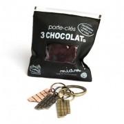 Porte-clefs tablette de chocolat