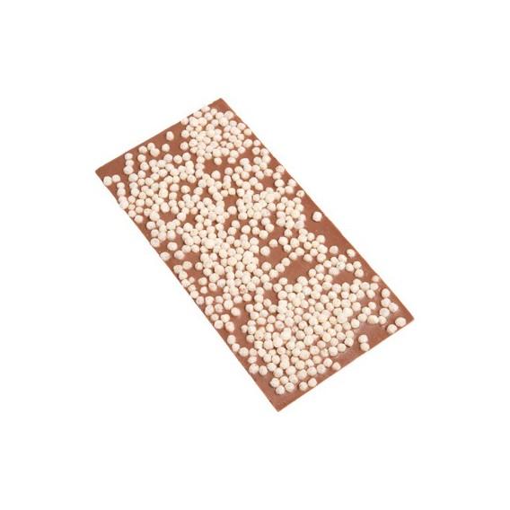 Tablette chocolat au lait et riz soufflé