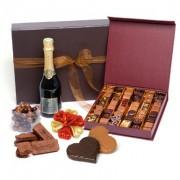 chocolats champagne saint-valentin