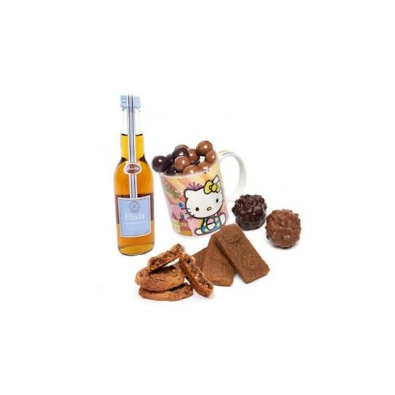 Chocolats et Mug Hello Kitty