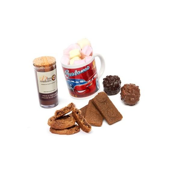 Chocolats et Mug Cars