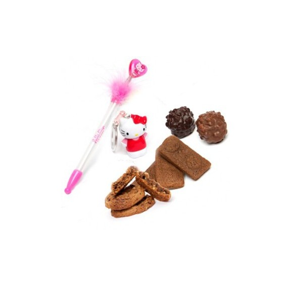 Chocolats et Set Hello Kitty