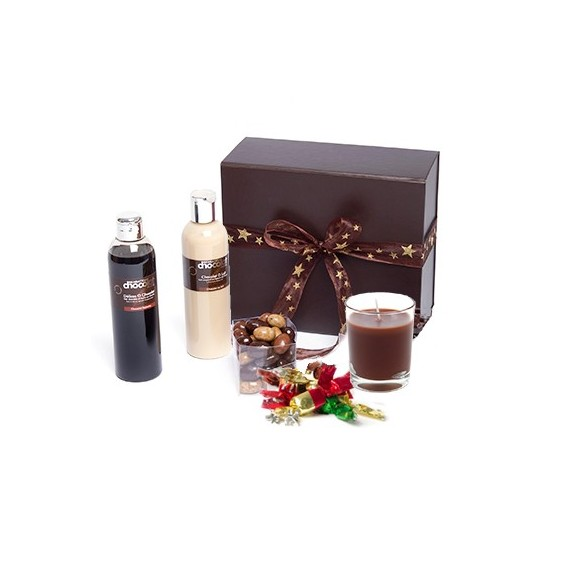 Chocolats de Noël et cosmétiques