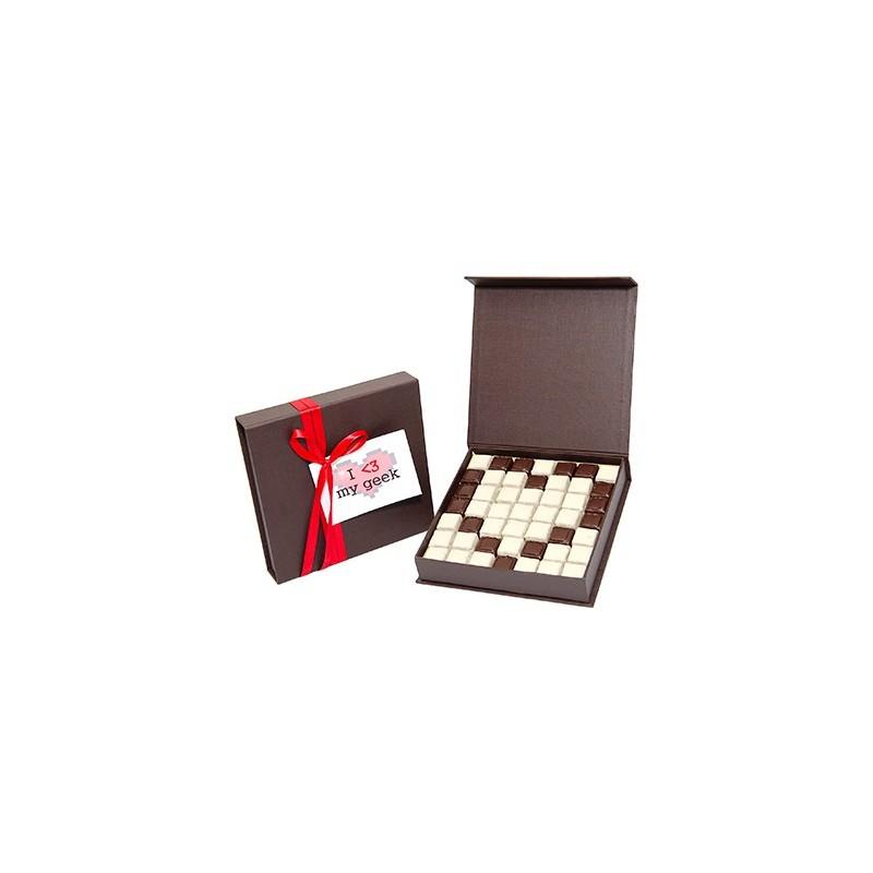 cadeau geek saint valentin chocolat d 39 lys couleurs. Black Bedroom Furniture Sets. Home Design Ideas