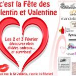 Plein d'idées cadeaux pour la Saint Valentin !