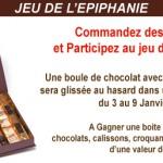 Gagnez des chocolats avec le jeu de l'épiphanie