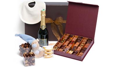 cadeau chocolat naissance
