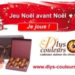 Grand jeu Noël avant Noël avec D'lys couleurs