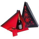 Cadeau chocolats et champagne