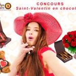 Concours Saint-Valentin en chocolat !