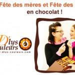 Fête ton père et ta mère en chocolat !