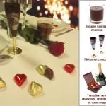 La décoration de table Saint-Valentin
