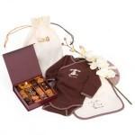 Cadeau de naissance pour bébé chocolat
