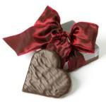 Cadeau Fête des mères : Coeur en chocolat