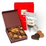 Cadeau Fête des pères : thé , café et chocolat