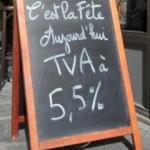 Drôle, la TVA sur le chocolat