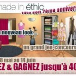 Joyeux anniversaire Made in Ethic !