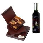 Cadeau fête des pères : Vin, liqueur et chocolats