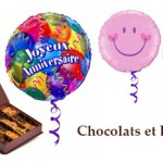 Chocolats et ballon