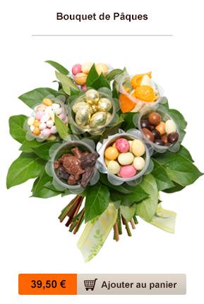 bouquet chocolat paques