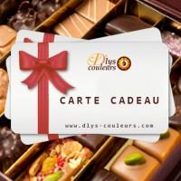 E-carte cadeau chocolat