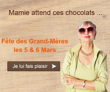 chocolat fête des grand mères