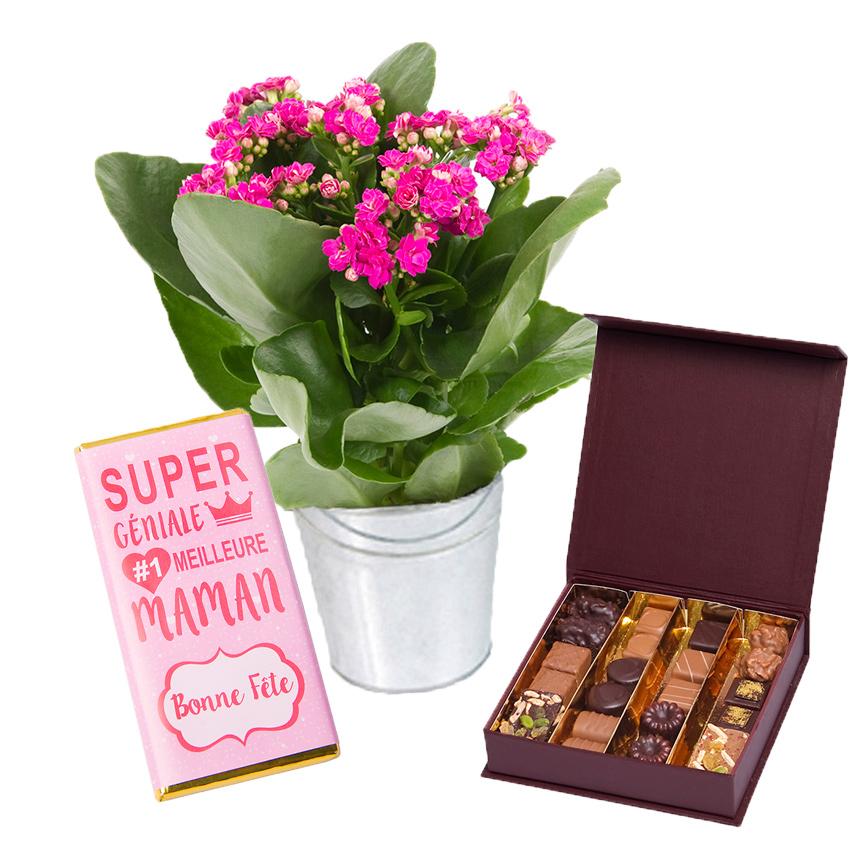 fleurs et chocolats