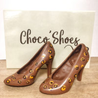 chaussures en chocolat