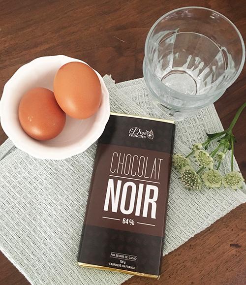recette pot de crème au chocolat