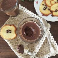 pot de crème au chocolat