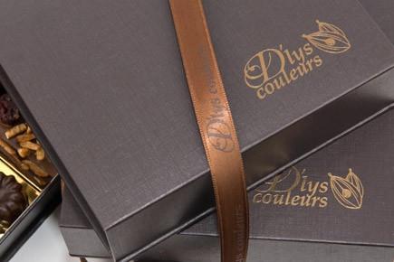 Boite chocolats avec votre logo