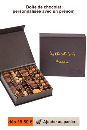 livraison chocolat personnalisé
