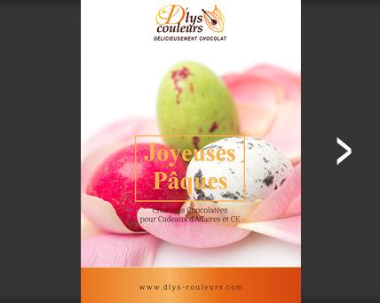 catalogue chocolat paques