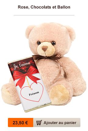cadeau chocolat saint valentin