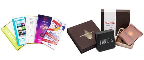chocolat cadeau personnalisé