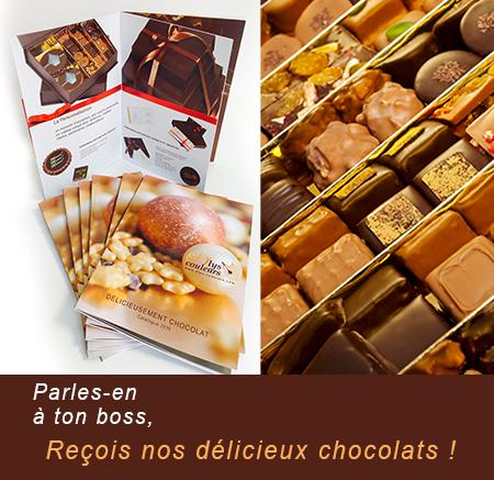 chocolat cadeaux d'affaires