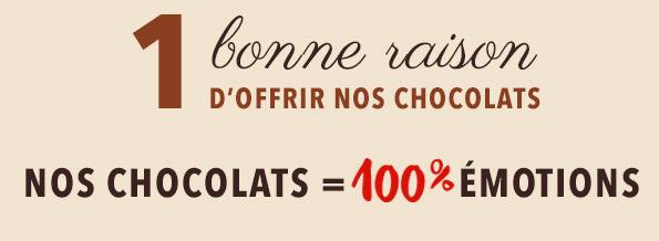 livraison chocolat D'lys couleurs